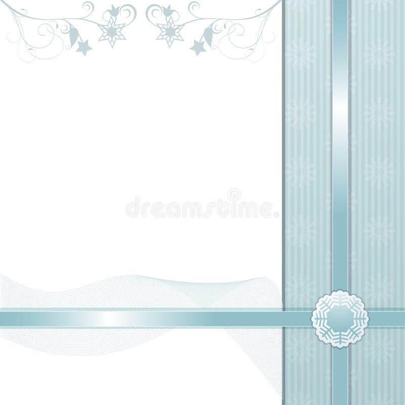 Invierno background2 de la Navidad ilustración del vector
