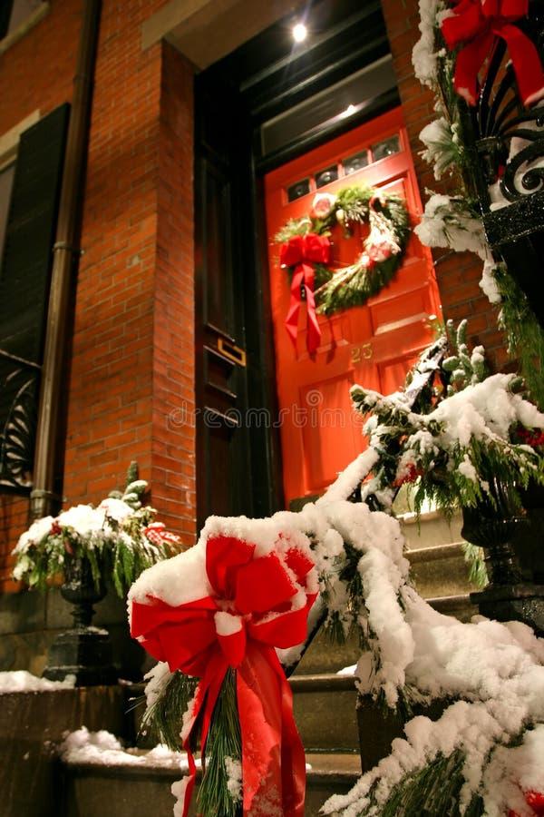 Invierno de Boston fotografía de archivo