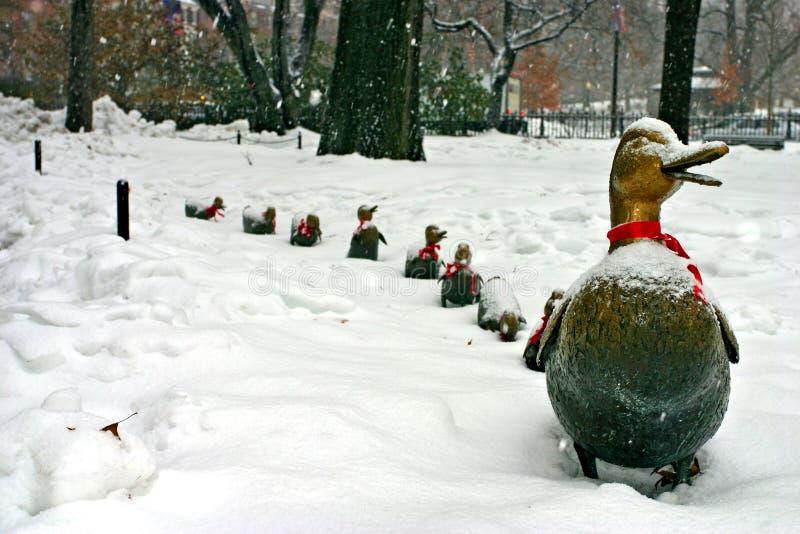 Invierno de Boston imágenes de archivo libres de regalías