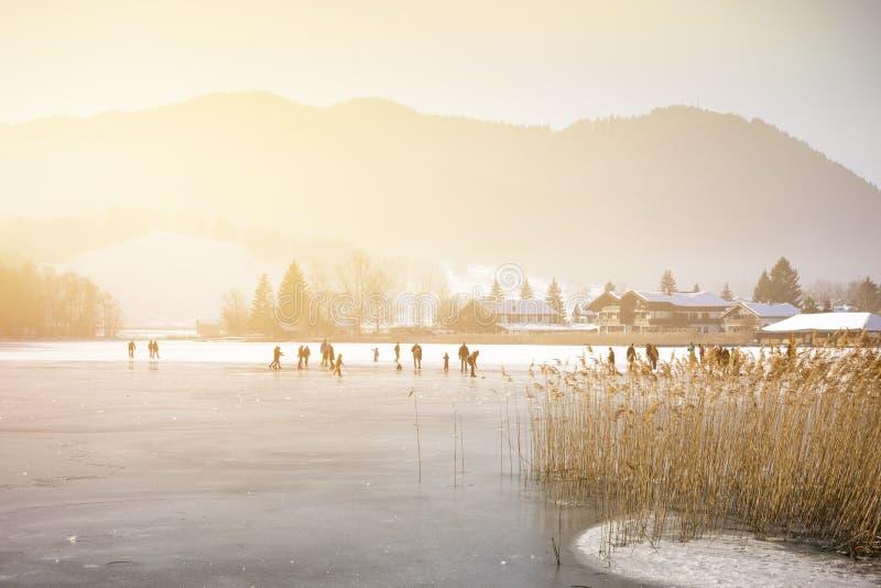 Invierno de Schliersee foto de archivo libre de regalías