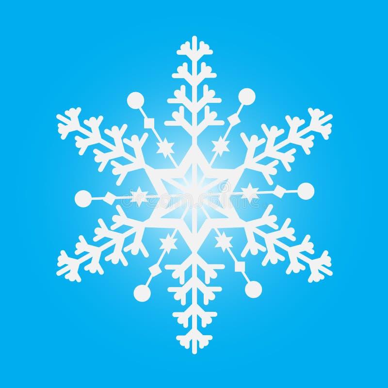 Invierno del copo de nieve fotografía de archivo libre de regalías