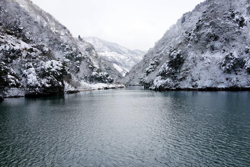 Invierno del lago foto de archivo libre de regalías