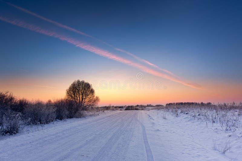 Invierno En Europa Foto de archivo libre de regalías