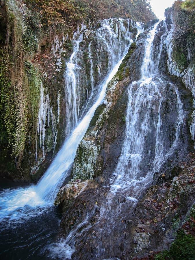 Invierno en Tobera, Burgos, Castilla y León, España imagen de archivo libre de regalías