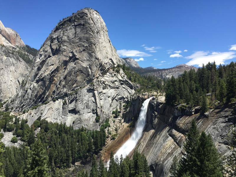 Invierno en Yosemite imagen de archivo libre de regalías
