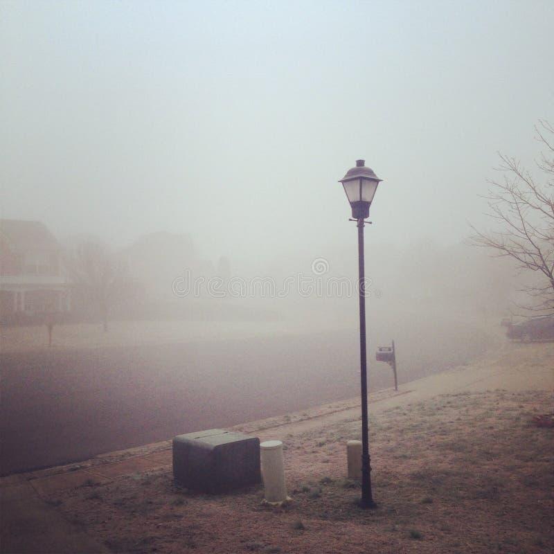 Invierno fantasmal fotografía de archivo