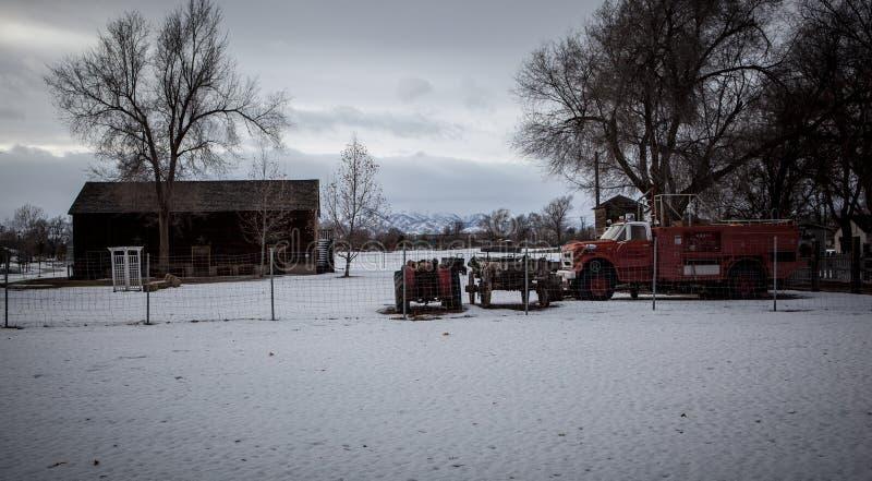 Invierno frío imagen de archivo