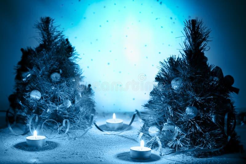 Invierno místico fotos de archivo