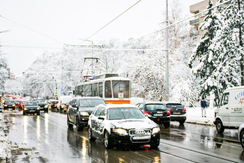 Invierno Nevado fotos de archivo libres de regalías