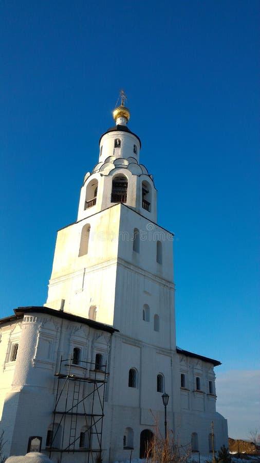 Invierno, república de Kazán del sviyazhsk de Tartaristán fotos de archivo libres de regalías