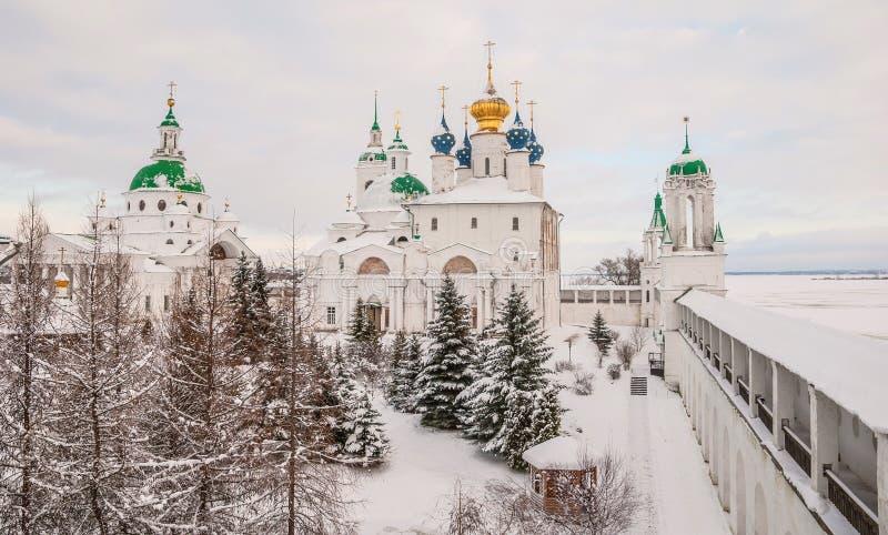 Invierno Rostov Veliky imagen de archivo libre de regalías