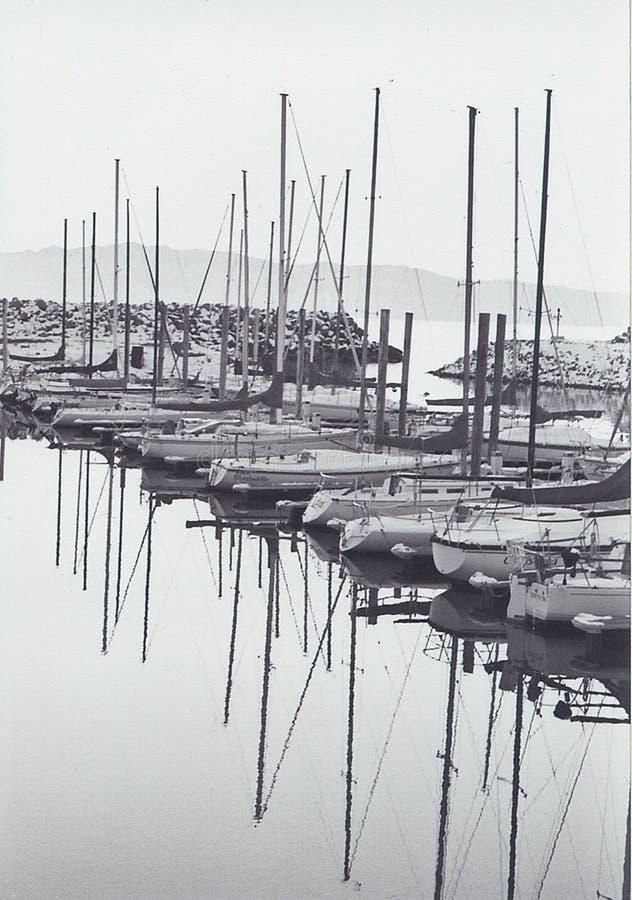 Invierno simétrico nostálgico imagen de archivo libre de regalías