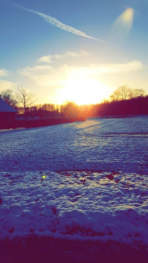 Invierno Winderland fotos de archivo libres de regalías