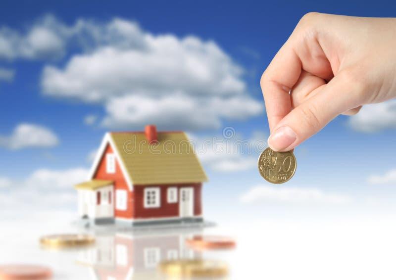 Invierta en concepto de las propiedades inmobiliarias. fotografía de archivo