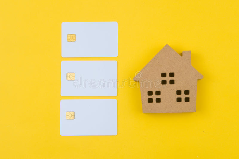 Invierta en el concepto de las propiedades inmobiliarias, préstamos para el concepto de las propiedades inmobiliarias fotos de archivo
