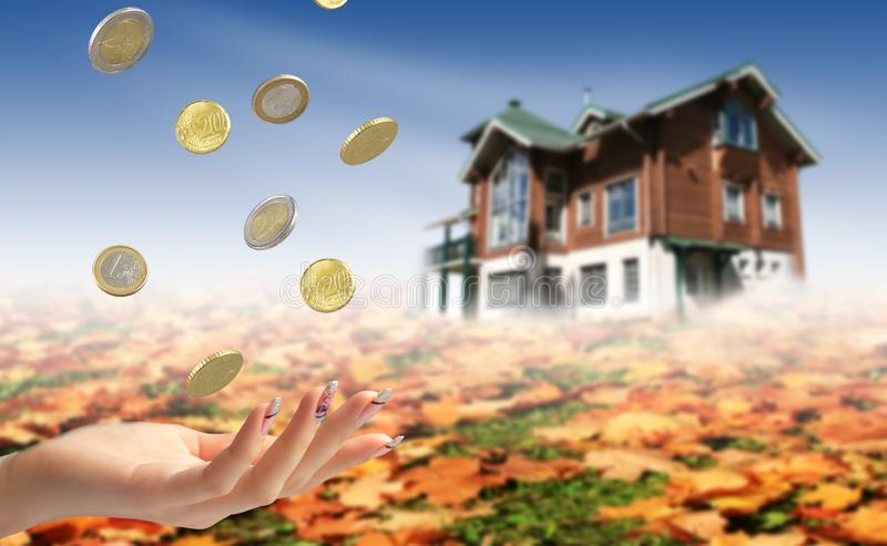 Invierta en propiedades inmobiliarias fotos de archivo