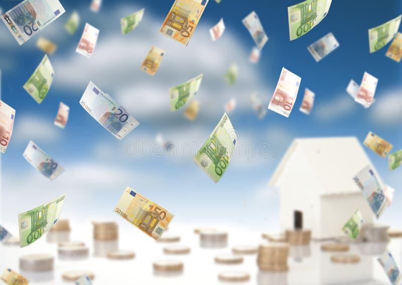 Invierta en propiedades inmobiliarias fotografía de archivo