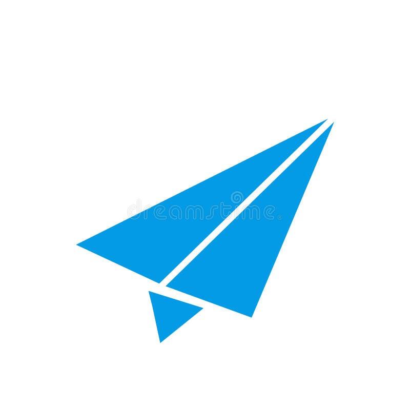 Invii il segno di vettore dell'icona ed il simbolo isolato su fondo bianco, invia il concetto di logo illustrazione vettoriale