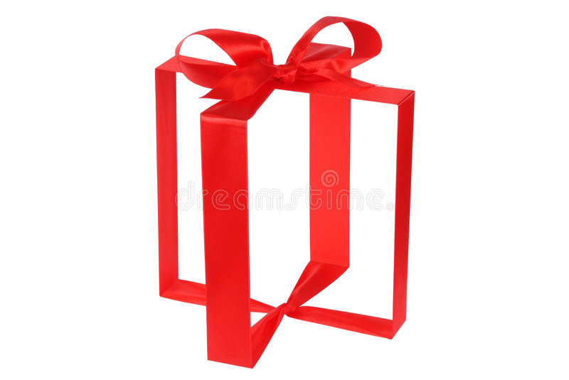 Download Invisible Gift Box stock image. Image of christmas, white - 7120009