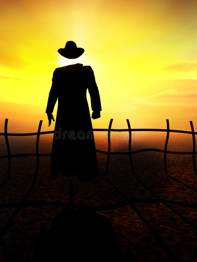 The Invisible Man 16 royalty free illustration