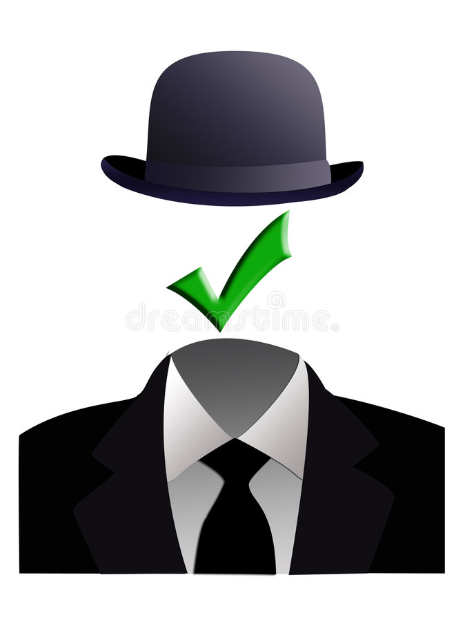 Invisible Man Concept Stock Images