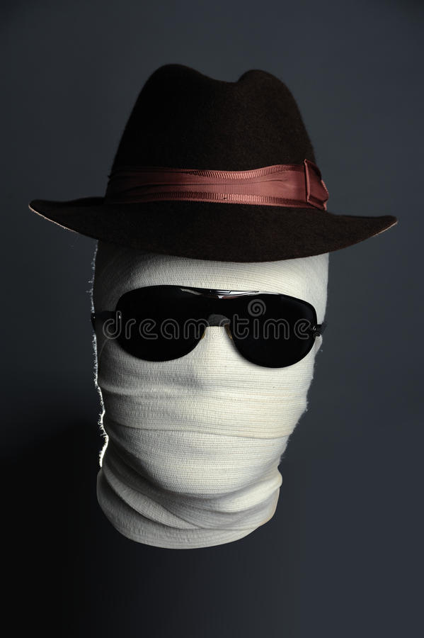 Invisible Man In Hat Stock Photos