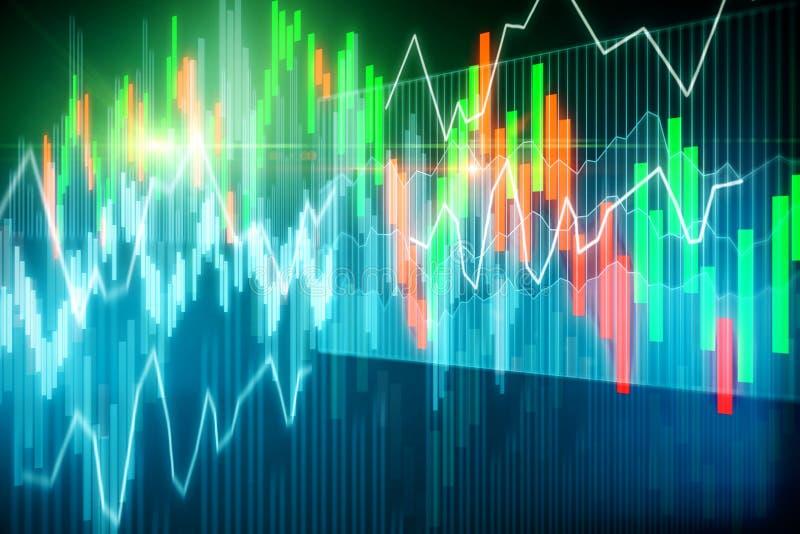 Invista e conceito do corretor ilustração stock