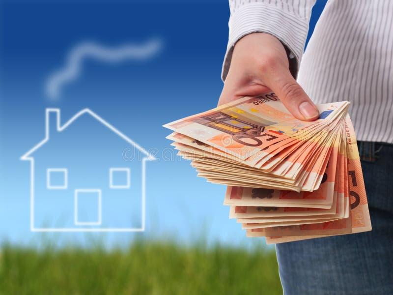Invista em bens imobiliários. fotografia de stock