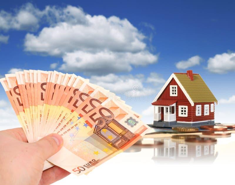 Invista em bens imobiliários. fotografia de stock royalty free
