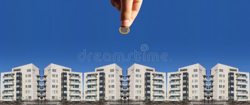 Invista em bens imobiliários fotografia de stock