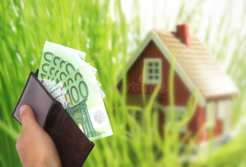 Invista no conceito dos bens imobiliários. fotos de stock