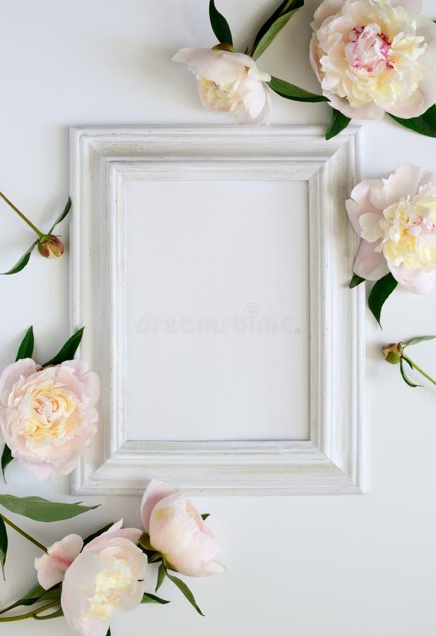 Invitación de la boda foto de archivo libre de regalías