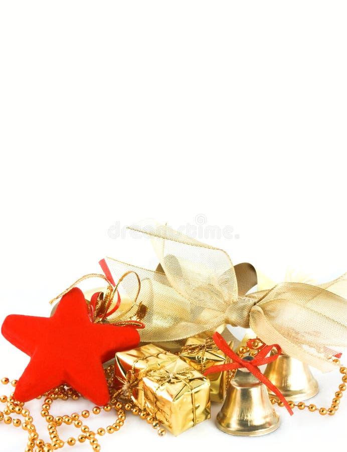 Invitación de Navidad foto de archivo libre de regalías