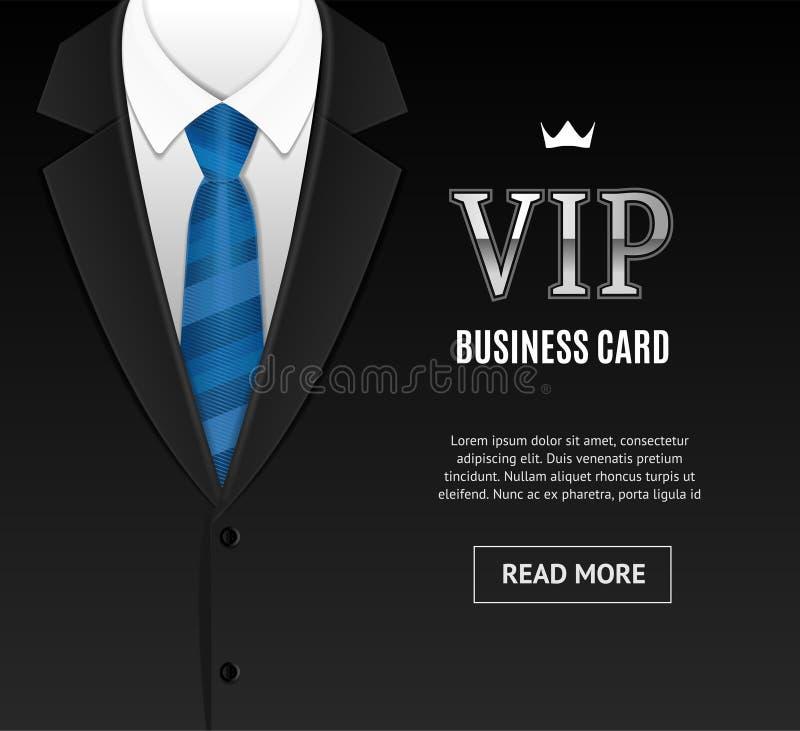 Invitación del Vip con el lazo del smoking Vector ilustración del vector