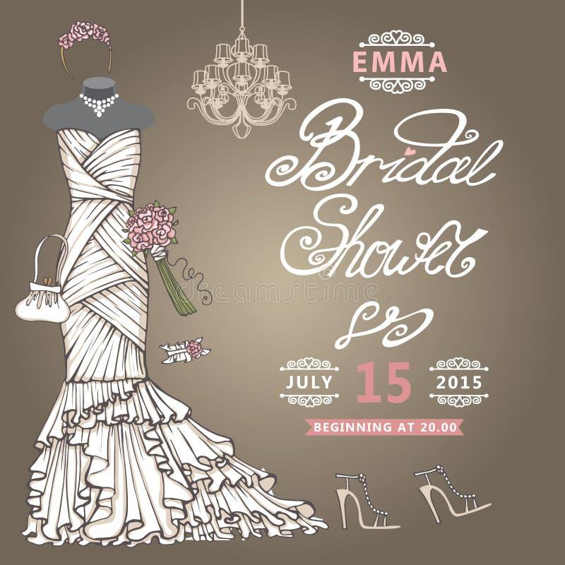 Increíble Vestidos Nupciales De La Ducha Ideas Ornamento Elaboración ...