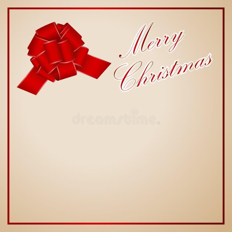 Invitación, Saludo O Carte Cadeaux De La Navidad Marco Rojo Con El ...