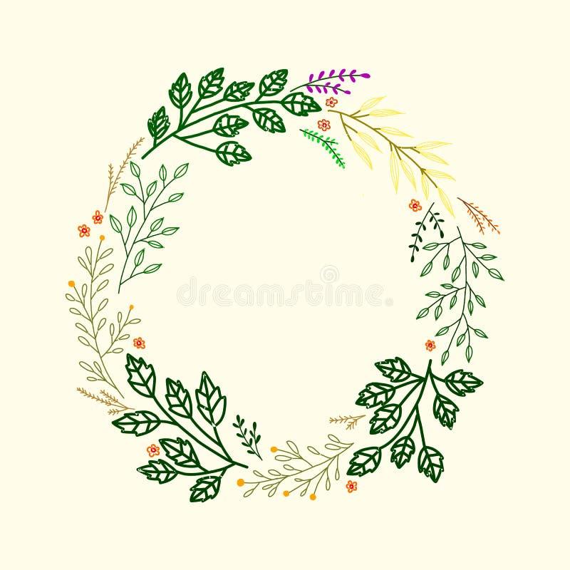 Invitaci?n de la boda Cap?tulo con el texto y flores - Rose del rosa y blanca, peon?a, camp?nula y lila aisladas en el fondo blan ilustración del vector