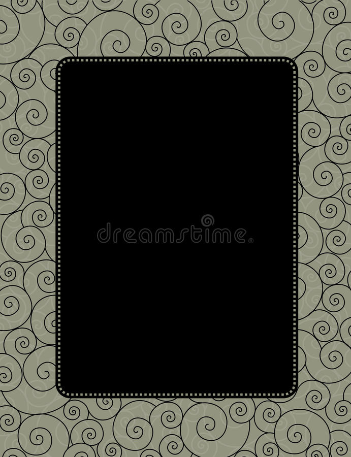 Download Invitation stock vector. Image of backdrop, border, abstract - 24180863