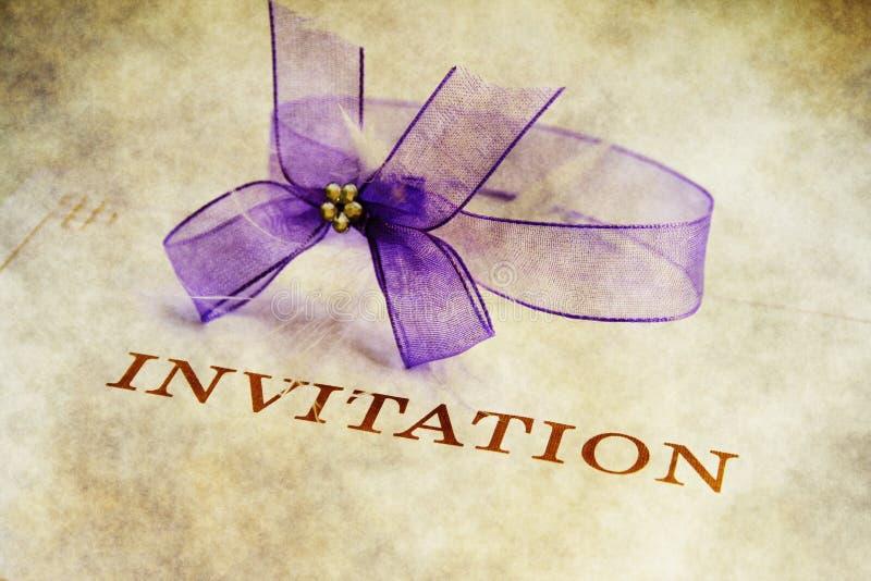 invitation illustration de vecteur