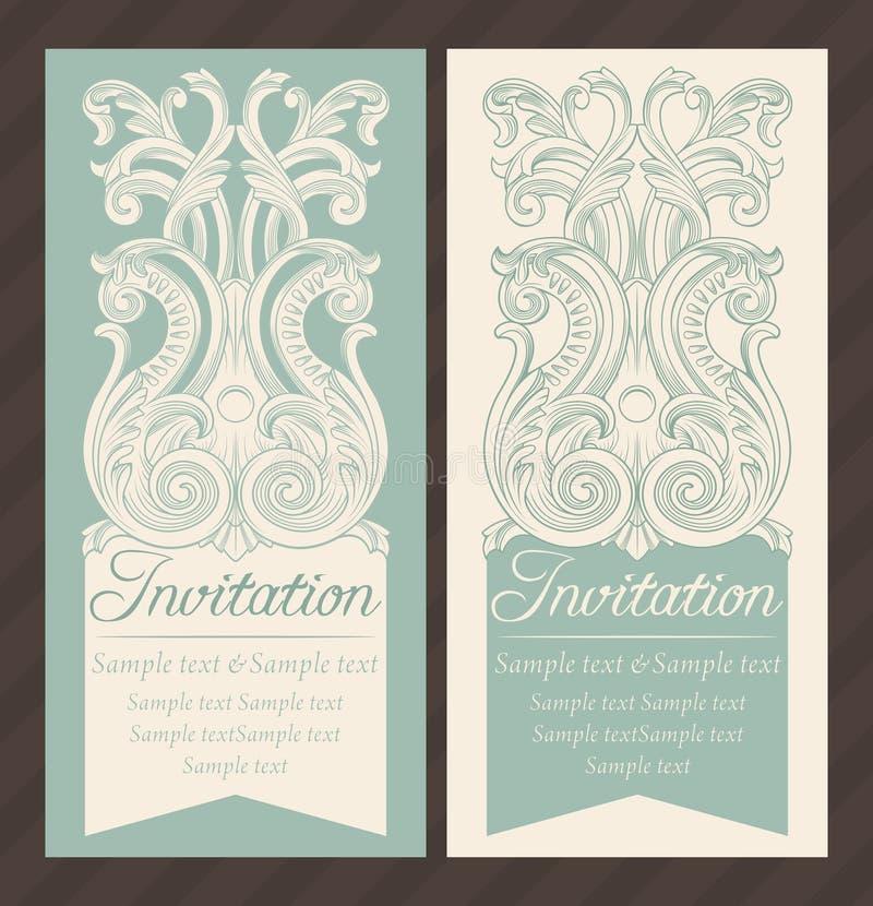 Download Invitation illustration de vecteur. Illustration du fleur - 76075157
