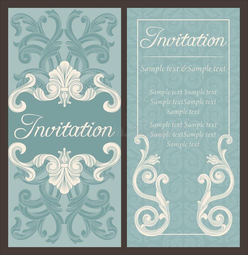 Download Invitation illustration de vecteur. Illustration du honeymoon - 76075226