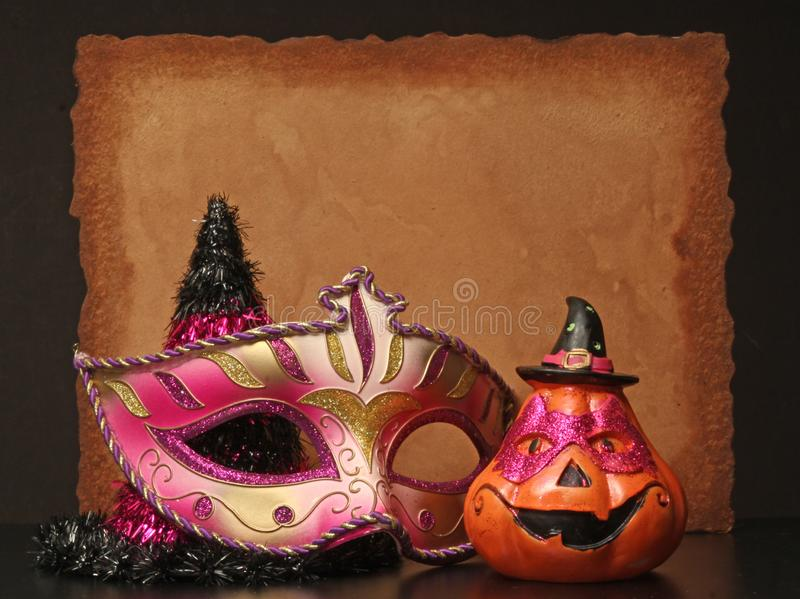 Happy Halloween. Invitation Background copy space for Happy Halloween royalty free stock photos
