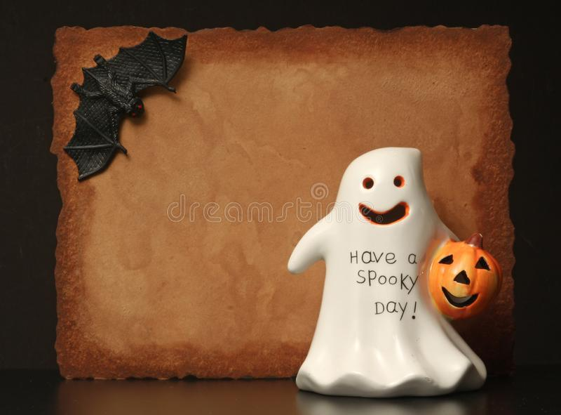 Happy Halloween. Invitation Background copy space for Happy Halloween royalty free stock images
