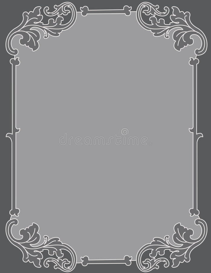 Download Invitation Background Ornamental Frame Royalty Free Stock Photography - Image: 30829327