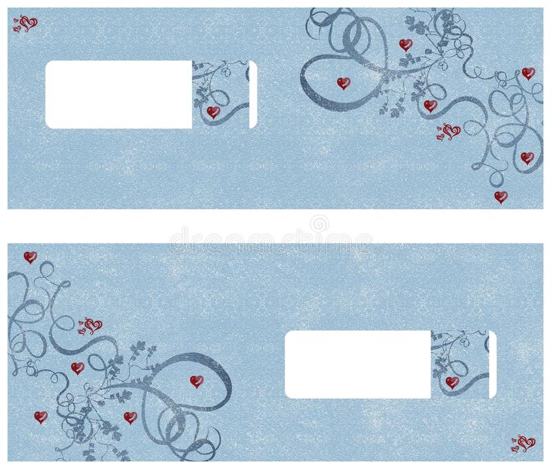 Download Invitation card stock illustration. Image of hearts, printer - 12657888