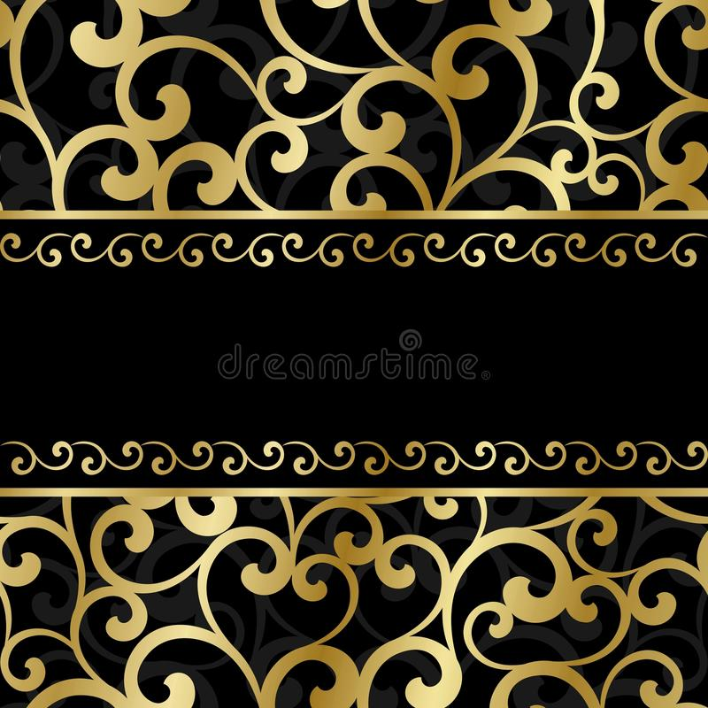 Download Invitation card stock vector. Image of card, frame, texture - 29042484