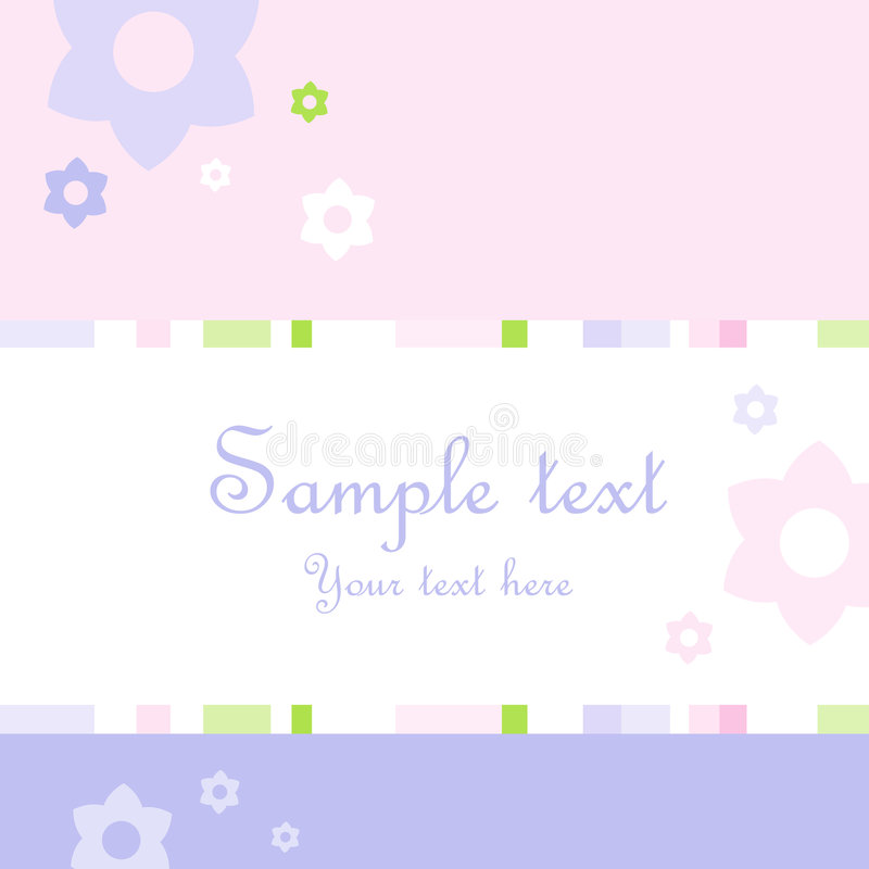 Download Invitation Card stock vector. Image of frame, decorative - 5110000