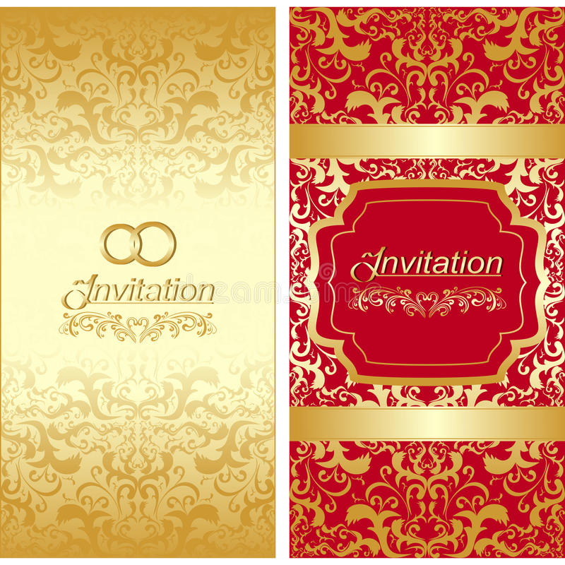 Invitation card design stock vector illustration of abstract 33778083 invitation card design stopboris Choice Image