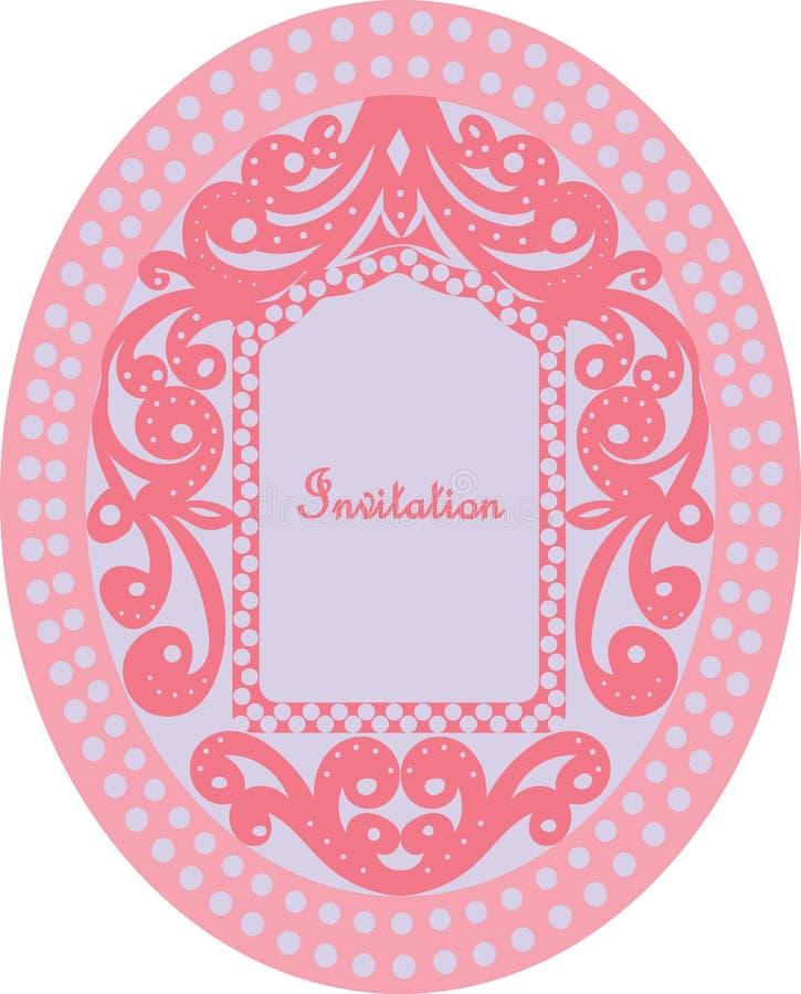 Invitation Card Stock Vector Illustration Of Kids Types
