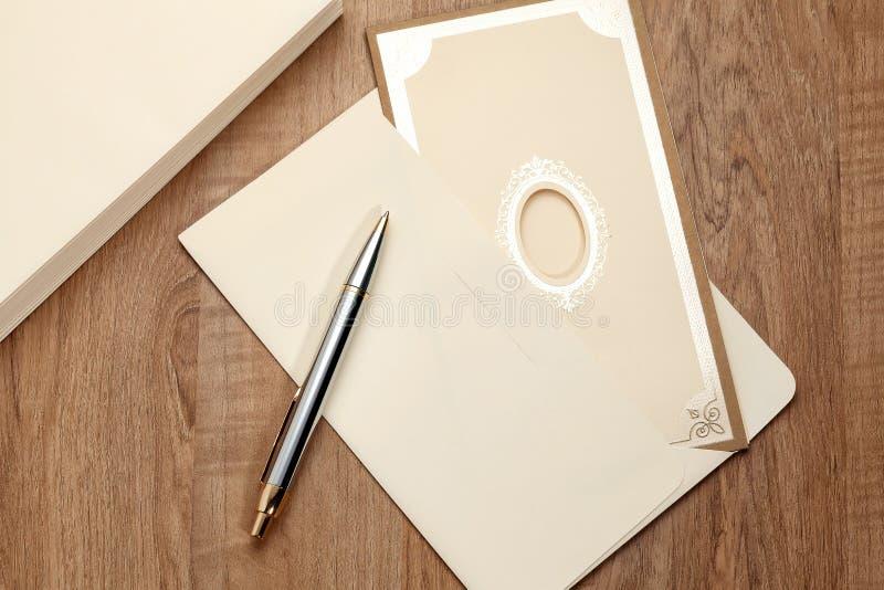 Invitation card royalty free stock photography